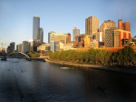 Melbourne CBD and Yarra River